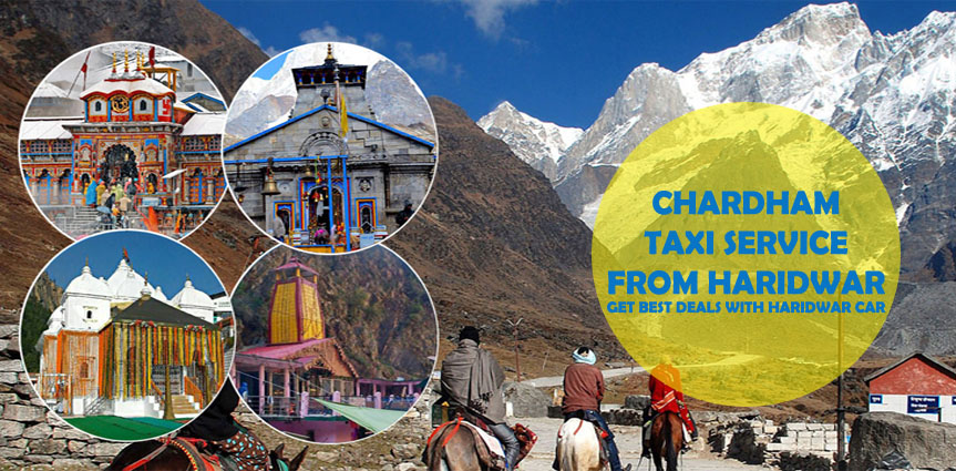 Haridwar to Chardham Taxi Service